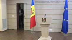 """Briefing de presă susținut de deputatul Partidului """"ȘOR"""", Denis Ulanov, cu privire la decizia ilegală a Comisiei Naționale Extraordinare de Sănătate Publică"""