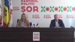 Briefing organizat de Partidul Politic ȘOR