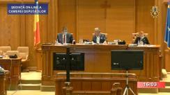 Ședința în plen a Camerei Deputaților României din 29 iunie 2020