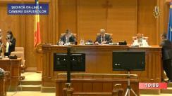 Ședința în plen a Camerei Deputaților României din 30 iunie 2020