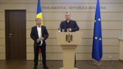Declarația vicepreședintelui Parlamentului Republicii Moldova, Vlad Batrîncea și președintele Fracțiunii parlamentare PSRM, Corneliu Furculiță cu privire la cererea de aderare a deputatului Ștefan Gațcan la grupul parlamentar PRO MOLDOVA