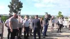 Protest organizat de Partidul Socialiștilor din Republica Moldova față de plecarea din fracțiunea PSRM a deputatului Ștefan Gațcan