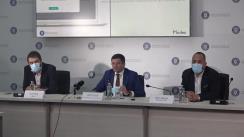 Conferință de presă susținută de Ministrul Mediului, Apelor și Pădurilor, Costel Alexe, cu privire la lansarea primei platforme de consultare și voting online din România bazată pe un sistem Blockchain