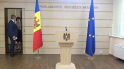 Briefing de presă susținut de deputatul Fracțiunii PDM, Alexandru Jizdan