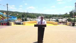 Briefing de presă la cel mai mare parc familial OrheiLand