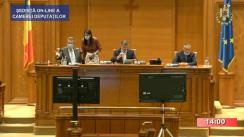 Ședința în plen a Camerei Deputaților României din 7 iulie 2020