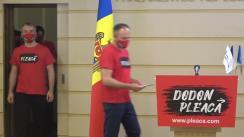 Conferință de presă a deputaților din Grupul Parlamentar PRO MOLDOVA înainte de ședința Parlamentului Republicii Moldova din 6 iulie 2020