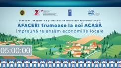 Eveniment de lansare a proiectelor de dezvoltare economică locală