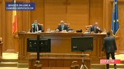 Ședința în plen a Camerei Deputaților României din 8 iulie 2020