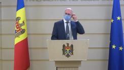Briefing de presă susținut de fracțiunea Partidului Democrat din Moldova în timpul ședinței Parlamentului Republicii Moldova din 9 iulie 2020
