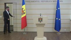 Declarațiile lui Sergiu Sîrbu în timpul ședinței Parlamentului Republicii Moldova din 9 iulie 2020
