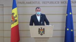 Declarațiile lui Petru Frunze în timpul ședinței Parlamentului Republicii Moldova din 9 iulie 2020
