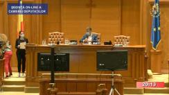 Ședința în plen a Camerei Deputaților României din 9 iulie 2020