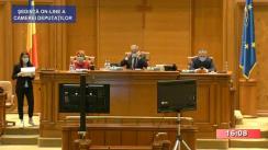 Ședința în plen a Camerei Deputaților României din 13 iulie 2020