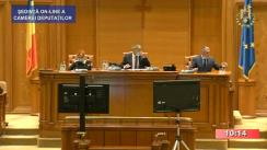 Ședința în plen a Camerei Deputaților României din 14 iulie 2020