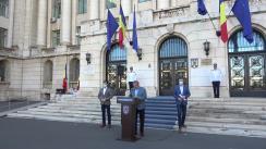 Declarații de presă referitoare la noile reglementări pentru simplificarea procesului de înmatriculare, înregistrare și radiere a vehiculelor din România