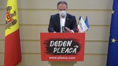 Briefing de presă susținut de liderul PRO MOLDOVA, Andrian Candu