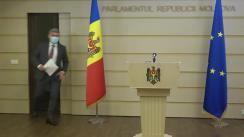 Briefing de presă susținut de deputații din Fracțiunea Partidului Democrat din Moldova