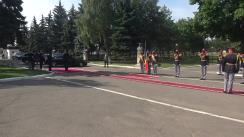 Ceremonia de decorare a contingentului Armatei Naționale care a participat la parada militară de la Moscova, Federația Rusă