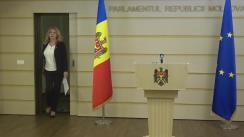 Briefing de presă susținut de deputații Fracțiunii Partidului ȘOR