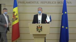 Declarație de presă susținută de deputații Grupului parlamentar PRO MOLDOVA în timpul ședinței Parlamentului Republicii Moldova din 16 iulie 2020