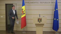 Briefing de presă al Fracțiunii Partidului Socialiștilor din Republica Moldova