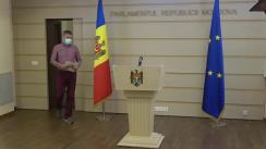 Conferință de presă susținută de deputatul Octavian Țîcu