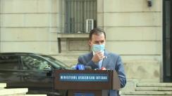 Conferință de presă susținută de Prim-ministrul României, Ludovic Orban, la finalul videoconferinței pentru combaterea COVID-19