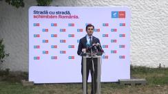 Conferință de presă susținută de Alianța USR PLUS