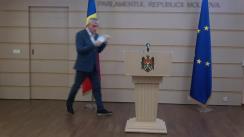 Declarațiile lui Alexandru Slusari în timpul ședinței Parlamentului Republicii Moldova din 20 iulie 2020