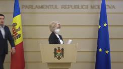 Briefing de presă susținut de deputații Alla Darovannaia si Vladimir Odnostalco privind activitatea Fracțiunii PSRM în sesiunea primavară-vară a anului 2020
