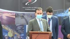 Declarații susținute de Prim-ministrul României, Ludovic Orban, după vizita la Centrala Nuclearelectrica din orașul Cernavodă