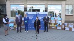 COVID-19: Livrarea ajutorului umanitar din partea Uniunii Europene și OMS pentru UTA Găgăuzia