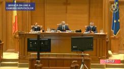 Ședința în plen a Camerei Deputaților României din 27 iulie 2020