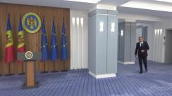 Briefing de presă susținut de Prim-ministrul Republicii Moldova, Ion Chicu