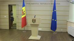 """Briefing de presă susținut de Deputatul Fracțiunii PAS, Blocul ACUM, Oazu Nantoi cu tema """"Politicile de instigare a vrajbei interetnice de către Președintele Igor Dodon"""""""