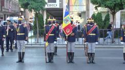 Ceremonia organizată cu prilejul Zilei Imnului Național