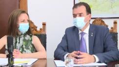 Semnarea Acordului de colaborare pentru identificarea surselor de finanțare necesare realizării unui nou Spital Clinic Județean de Urgență în județul Sibiu