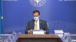 Ședința Guvernului României din 31 iulie 2020