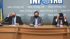 """Conferință de presă organizată de Partidul Congresul Civic cu tema """"Alegerile prezidențiale în Moldova - înșelăciune, conflict civil și crimă"""""""