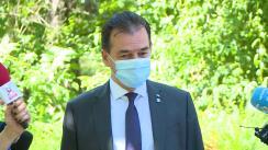 Declarații susținute de Prim-ministrul României, Ludovic Orban
