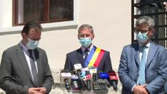 Declarații de presă susținute de Prim-ministrul României, Ludovic Orban, după inaugurarea Muzeului mineritului din Petroșani, proiect reabilitat din fonduri europene, prin Programul Operațional Regional 2014 – 2020