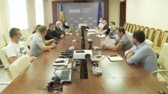 Deputații Fracțiunii ACUM PLATFORMA DA discută despre situația creată la vama Leușeni