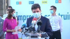 Lansarea candidaturii Simonei Spătaru, din partea Alianței USR-PLUS și a PNL, la Primăria Sectorului 4