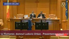 Ședința comună a Camerei Deputaților și Senatului României din 12 august 2020