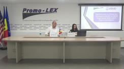 """Conferință de presă organizată de Asociația Promo-LEX cu tema """"Prezentarea Raportului de evaluare a implementării Planurilor Strategice ale Comisiei Electorale Centrale și Centrului de Instruire Continuă în Domeniul Electoral penru anii 2016-2019"""""""