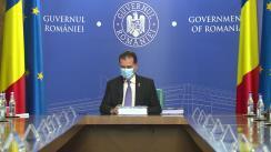 Ședința Guvernului României din 14 august 2020