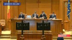 Ședința comună a Camerei Deputaților și Senatului României din 20 august 2020