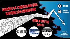 """Dezbaterea publică organizată de Radio Moldova Tineret pe tema """"Migrația tinerilor din Republica Moldova: cum o putem opri?"""""""