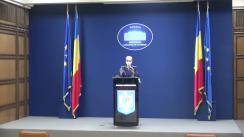 Declarație de presă susținută de purtătorul de cuvânt al Ministerului Afacerilor Interne, comisar-șef de poliție Monica Dajbog